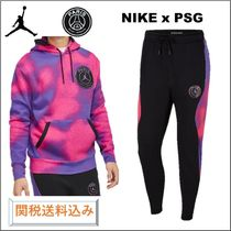 21SS*Nikeジョーダン+PSG 虹色セットアップ 関税込み
