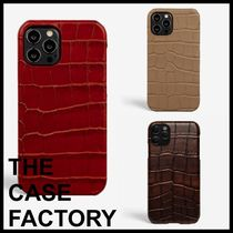 ■THE CASE FACTORY■クロコ柄 iPhone12/12Pro iPhoneケース