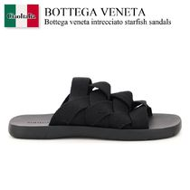 Bottega veneta intrecciato starfish sandals
