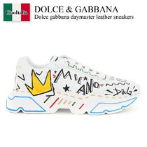 Dolce gabbana daymaster leather sneakers