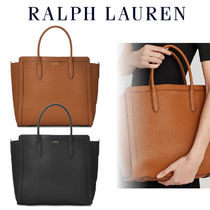 Ralph Lauren◆Medium Tyler Tote In Leather レザートート