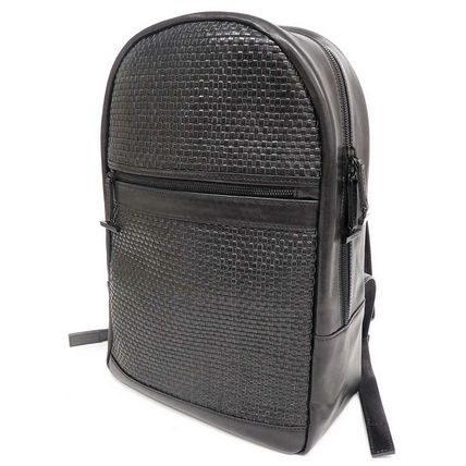 AMUAMU  LEATHER DAY PACK  メッシュレザーリュック