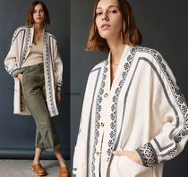 Anthropologie限定☆Avery Embroidered Kimono Jacket