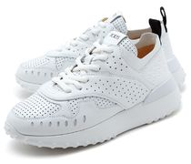 TOD'S★厚底 パンチング leather sneakers white【関税込EMS】