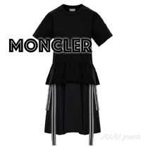 Moncler★2021SS★袖ロゴ★ペプラムワンピース★送料&関税込