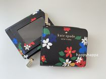 【kate spade】staciフラワープリント☆ミニお財布