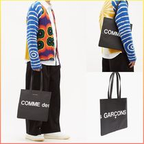 COMME DES GARCONS WALLET ロゴ レザートートバッグ