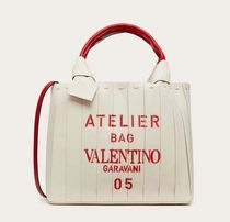 【VALENTINO】 ATELIER BAG 05 PLISSE EDITION TOTE BAG