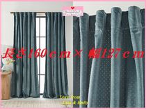 関税送料込【Anthro】Velvet Louise Curtain Teal 1枚
