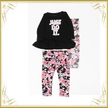 ☆SEAL☆2 Pieces Set with Floral Leggings and T-shirt