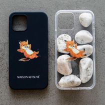 ◆ MAISON KITSUNE CHILLAX FOX iPhone 12/Pro/mini ケース
