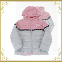 ☆SEAL☆Two-Tone Puffer Jacket with Zip Closure