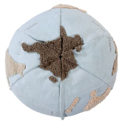 Lorena Canals クッション・クッションカバー 在庫少 関送込 LORENA CANALS World Map Pouf クッション(5)