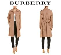 関税・送料込 BURBERRY☆Tropical Gabardine Belted Trench Coat