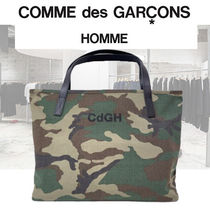 【COMME des GARCONS  HOMME 2021SS 迷彩プリント トート 】