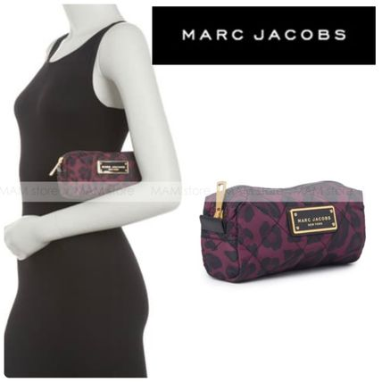 【MARC JACOBS】キルト コスメティック Leopard コンパクト case