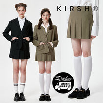 KIRSH TWILL PLEATS SKIRT KS HM412 追跡付