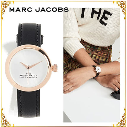 The Marc Jacobs◆The Round Watch 32mm  腕時計