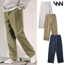 WV PROJECT★Biscuit pintuck wide pants - JJLP7466 4色