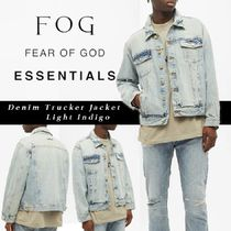 "FOG Essentials 20FW Denim Trucker Jacket ""Light Indigo"""