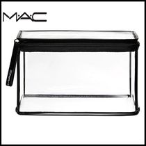 ☆MAC☆ CLEARLY/LARGE RECTANGLE 透明クリア ポーチ 日本未入荷
