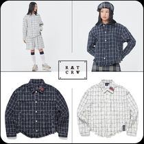 [ROMANTIC CROWN]★韓国大人気★TWEED TRUCKER JACKET