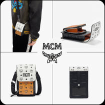 [MCM]★韓国大人気★Visetos mix Crossbody Phone case