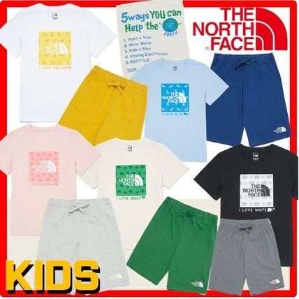 THE NORTH FACE(ザノースフェイス) キッズ用トップス ☆人気☆THE NORTH FACE☆K'S GREEN EARTH LOUNGE SE.T☆セット