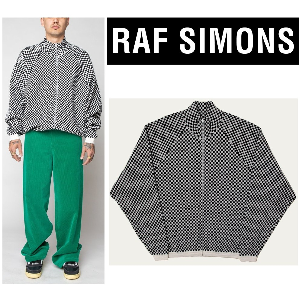 【RAF SIMONS】Made in Italy★上質ウール100% カーディガン (RAF SIMONS/カーディガン) 64656921