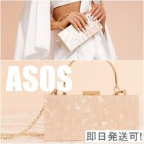 *ASOS*大理石風♪チェーン付きクラッチバッグ〔関税・送料無料〕