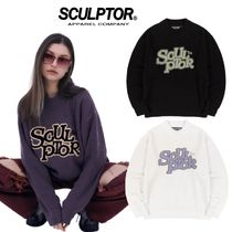 【SCULPTOR】21ss新作★ Fluffy Logo Mock Neck Sweater