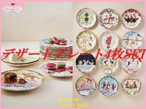 即納*Twelve Days of Christmas Menagerie Dessert Plate 4枚SET