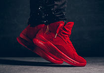 『在庫の確認必須』Curry 1 Lux Mid Suede 'Triple Red'