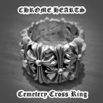 Chrome Hearts CH Cemetery Cross Ring セメタリーリング