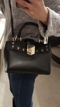 Jimmy★Choo(セールで破格)絶対欲しいLocketTote/Mini/Black