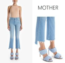 新色★MOTHER★Insider Crop Step Fray デニム (Hold My Hand)