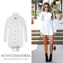 ★Scotch and Soda★Bow Detail Shirt 141648