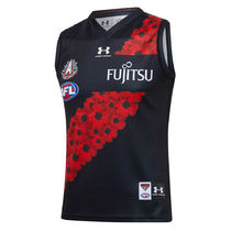 【UNDER ARMOUR】AFL Essendon Bombers 2021 Anzac Guernsey