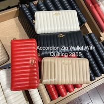 COACH★Accordion Zip Wallet With Quilting 長財布 2855