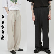 Raucohouse(ラウコハウス)★Single Pintuck Wide Slacks