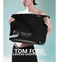 [TOM FORD] CANVAS SHOPPING BAG 送料関税無料