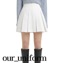 ASCLO(エジュクロ) ミニスカート [our] Lier Pleats Skirt Pants (2color)