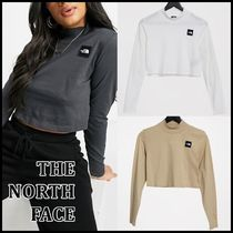 THE NORTH FACE *ロゴ 長袖 クロップTシャツ