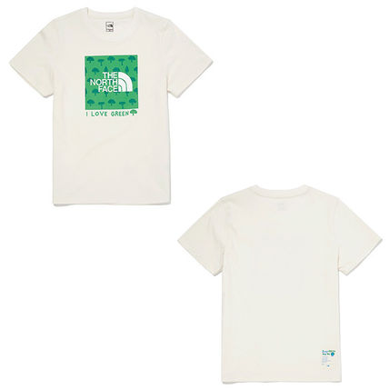 THE NORTH FACE キッズ用トップス ★THE NORTH FACE★キッズ★K'S GREEN EARTH LOUNGE SET NT7UM13(16)
