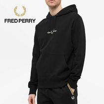 FRED PERRY(フレッドペリー) パーカー・フーディ 【おすすめアイテム】FRED PERRY Authentic Logo Black Hoodie