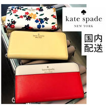 kate spade☆staci colorblock large continental wallet☆送込