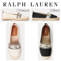 【Ralph Lauren】●大人気●Caylee Two-Tone Canvas Espadrille