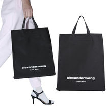 【ALEXANDER WANG】LUNCH TOTE BAG WITH LOGO