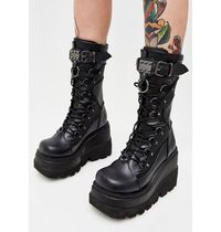 即納★国内発DOLLS KILL(DEMONIA)//HIGH RISE SHAKER BOOTS