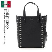 Jimmy choo star studs pegasi n  s tote bag